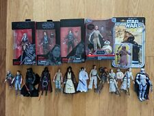 Star Wars Black Series Rey Ahsoka Leia Phasma Sabine Kylo Maz Jyn Lot