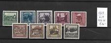 Austria - Ostenrijk @ 1923     Mi. 433/41 Mlh    @ Oost.207
