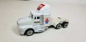 Vintage 1992 Racing Champions CITGO GLEN WOOD Ford Semi Truck Cab White Die-cast