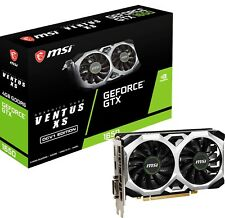 MSI GeForce GTX 1650 D6 VENTUS XS OCV1 Graphics Card, PCI-E, VR & 4K HDR Ready