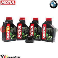 KIT TAGLIANDO OLIO + FILTRO MOTUL 5000 10W40 4LT BMW 1200 R GS 2007