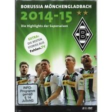 Borussia Mönchengladbach - Die Highlights der Supersaison 2014/2015 - 2 DVD - Ne