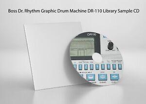 Boss Dr. Rhythm DR-110 Library Sample Pack Read Description
