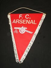 fanion wimpel pennant XXL F.C ARSENAL ENGLAND ANGLETERRE ancien old gunners