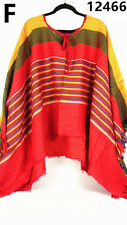 Mexico Cowboy Costume Mexican Poncho Bandit Wild West Fancy Dress Costume Party