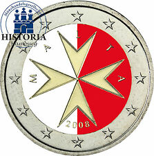 Bi-Metall Münzen aus Malta