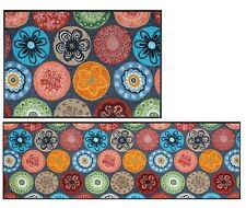 Fußmatte wash+dry Coralis - Teppichläufer bunte Blumen verschiedene Größen