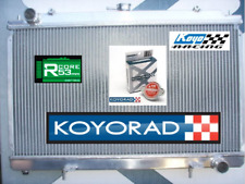 Radiator Silvia S14 S15 200SX sr20det 2Ltr KOYO RACING 53mm Alloy R020369 + CAP