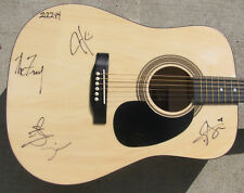 THE FRAY Band Signed by All (4) Acoustic Guitar Autographed w/ LOA