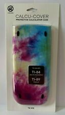 TI-84 TI-89 Plus Silver Titanium Edition Calculator Cover Case Tie Dye Pink Blue