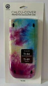 TI-84 TI-89 Plus Silver Titanium Edition Calculator Cover Case Tie Dye Pink Blue