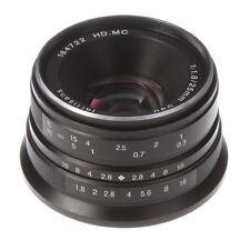 7artisans 25mm F/1.8 Manual Focus HD MC Lens For Sony E-mount A6500 A6300 NEX-7
