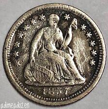 1857-O H10C Liberty Seated Half Dime DR2691JK
