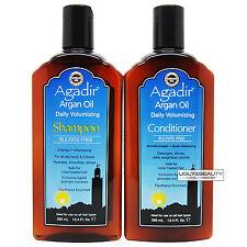 Agadir Argan Oil Daily Volumizing Shampoo & Conditioner 12.4 Fl Oz / 366 mL Duo