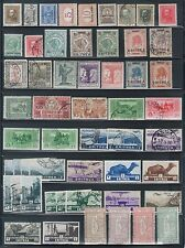 TMM* 20th century colonial Italy stamp lot M & U/H & NH F/VF