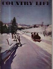1939 Country Life December - Christmas; Miami Beach, Ringoes NJ; Happauge NY;