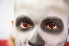 farbige Kontaktlinsen Party Show Halloween Funlinsen Motivlinsen Horrorlinsen