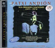 Patxi Andion Sus Grandes Canciones 1971-1973 BRAND  NEW SEALED 2 CDS SET
