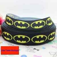 "Batman Yellow Ribbon 7/8"" Wide NEW UK SELLER FREE P&P"