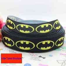 """Batman cinta amarilla 7/8"""" de ancho nuevo vendedor Reino Unido Libre P&P"""