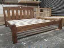 Made to Order - Chunky Solid Pine Bed Frame with Low Toe