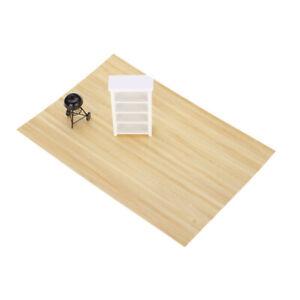 Dollhouse Miniature Light Wood Flooring Paneling Floorboard Model 44 X 29.5cm