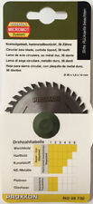 Proxxon Tungsten tipped circular saw blade 28732 KGS80 / Direct from RDGTools