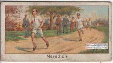 Marathon Runner Kolehmainen Flying Finns Olympics 1920s Trade Ad Card
