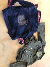 oshkosh & Hello Kitty Jean Jackets Size 3 T Toddler