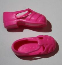 Barbie Shoes Pink Flat Foot Shoes Marked Malaysia