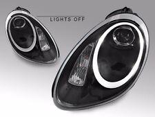 USA 05-08 Porsche 987 Boxster Cayman 991 LED Black Bi-Xenon Projector Headlight