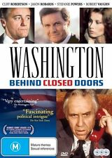 Washington - Behind Closed Doors (DVD, 2016, 3-Disc Set)