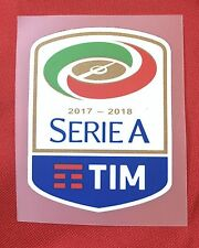 Patch Badge Serie A TIM maglia Lega Calcio Ufficiale 2017/18 Originale Genuine