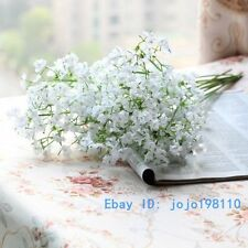 10 Stem Beautiful Fake Artificial Gypsophila Bouquets Silk Flowers NO VASE F161