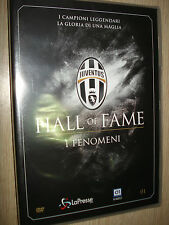 DVD N°1 I FENOMENI FC JUVENTUS HALL OF FAME ZIDANE CHARLES BETTEGA SIVORI