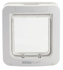 SureFlap Microchip Pet Door White/Brown  - Use MicroChip Or Tag Included