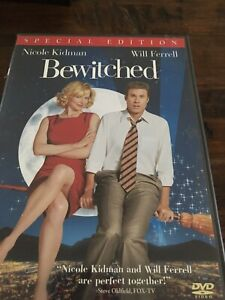 Bewitched: Special Edition DVD Nicole Kidman Will Ferrell Shirley MacLaine