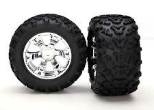 Traxxas pneu + jante monté 17mm summit E-MAXX revo etc #5674