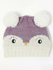 John Lewis Baby Textured Owl Hat Multi Size 12-24 Months New No Tag Free P&P UK