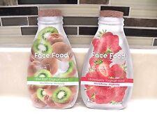 Face Food Facial Mask Lot: Kiwi Yoghurt, Strawberry Yoghurt Skincare