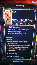 DIABLO 3 MODDED FIST WEAPON, INSANE DAMAGE PATCH 2.4 for XBOX ONE, MODDED WEAPON