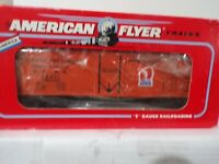 AMERICAN FLYER S GAUGE #6-48317 RATH PACKING REFRIGERATOR CAR