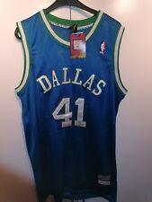 M&N Swingman Jersey DIRK NOWITZKI Dallas Mavericks 1998/99 NBA Trikot
