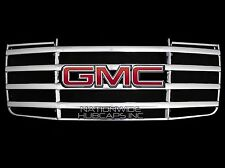 fits 2007-2010 GMC Sierra 2500 3500 HD CHROME Snap On Grille Overlay Grill Cover