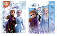 Disney Frozen 2 Soft Cover Notebook & Busy Pack Set Christmas Birthday Gift