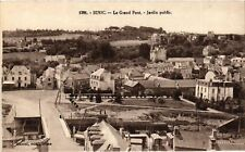 CPA  Binic - Le Grand Pont - Jardin Public  (630523)