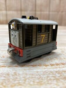 Thomas & Friends 2002 Toby #7 Diecast Train Gullane