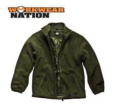 Cappotti e giacche da uomo verde in pile