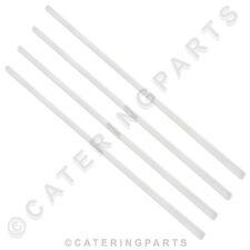 PACK OF 4 x HOBART 112378-23 WHITE NYLON DOOR SLIDES FOR AM12E AM12EC DISHWASHER