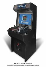 "27"" Xtension Arcade Cabinet fits X-Arcade Tankstick (With Coin Door Hole)"